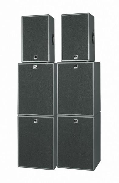6400W Aktiv HK PA Komplettanlage 30cm Horn Tops + 4x 46cm Subs