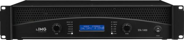 2x 1050W PA Verstärker StageLine STA-1400