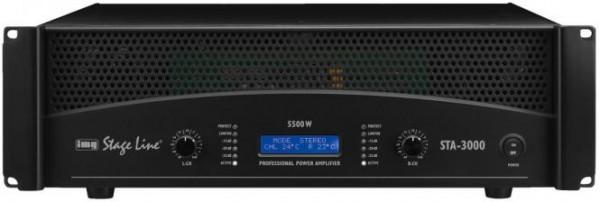 2x 2750W PA Verstärker StageLine STA-3000