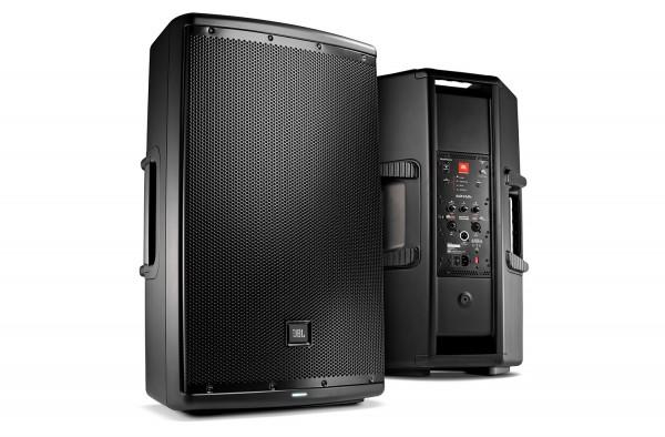 Aktive 38cm 1000W JBL EON615 PA Lautsprecher Boxen Aktiv Verleih Mieten-Copy