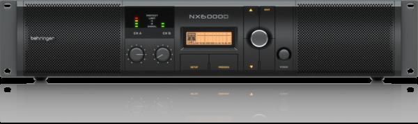 2x 1600W PA Verstärker mit DSP Behringer NX6000D
