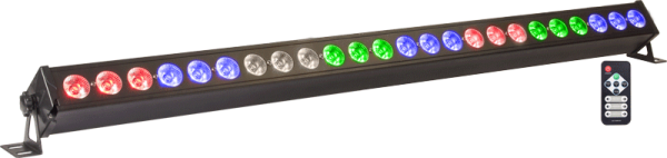 100W 24-fach LED BAR RGBAW PAR DMX & Musik gesteuerter