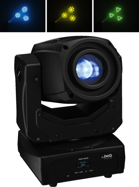 60W Musik gesteuerter LED Beam Moving Head