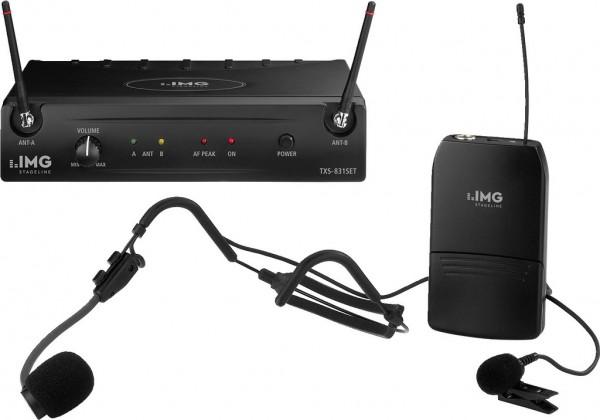 Funk Headset Set PLL 2 Kanal TXS-831SET