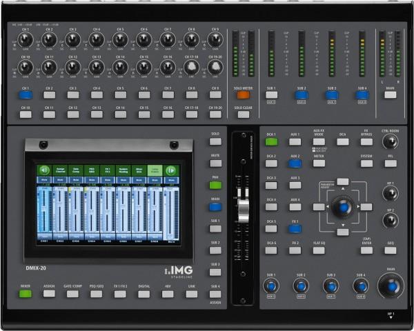 19-Kanal-Audio-Digital-Mischpult