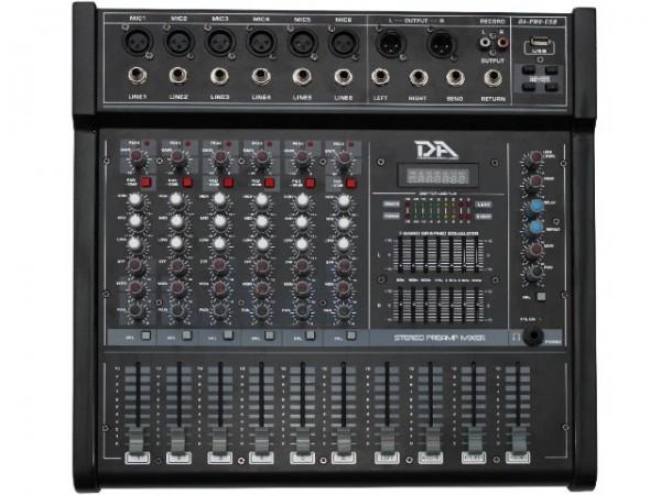 280W 6-Kanal Powermixer mit USB Player