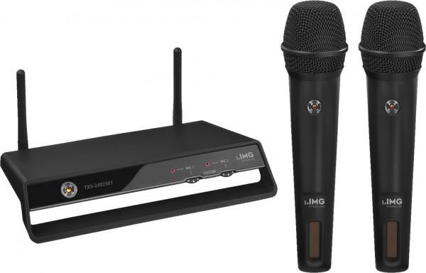 Funkmikrofon Set PLL 2 Kanal TXS-2402SET